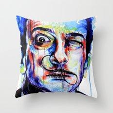 Salvador Dalì Throw Pillow