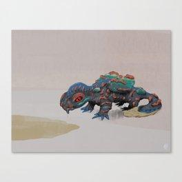 Spilled Beverage Monster Canvas Print