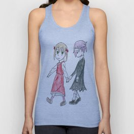 Like Night and Day Unisex Tank Top