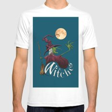 Witches Mens Fitted Tee White MEDIUM