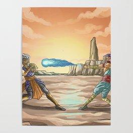 fighting videogame ninjas fight combat Poster