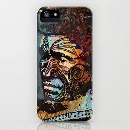 Maori Warrior 2 iPhone Case