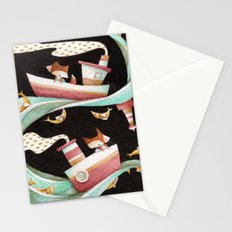Guided By Fishes Stationery Cards