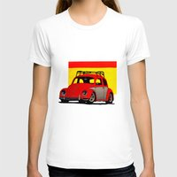 volkswagen T-shirts featuring VolkSWAGen by Colby Gray