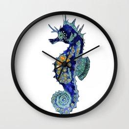 Blue Horse Wall Clock
