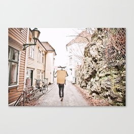 Alleyways Canvas Print