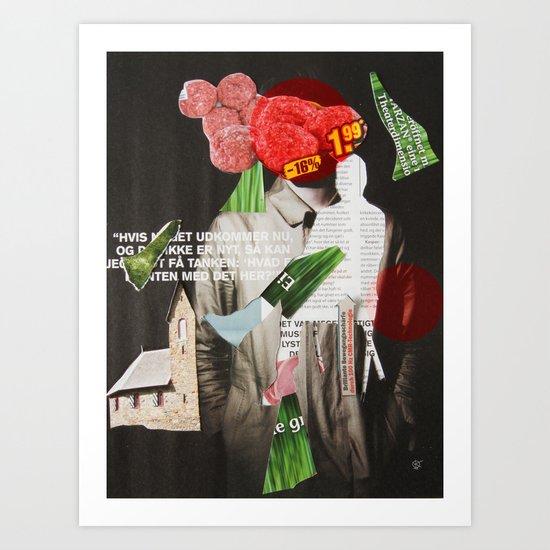 Black Mold Art Print