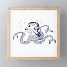 Amabie Framed Mini Art Print