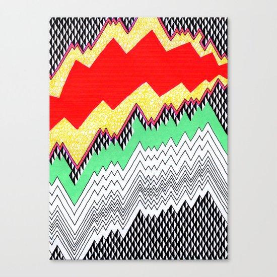 Isometric Harlequin #1 Canvas Print