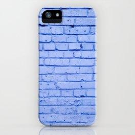 Purple Brick Wall iPhone Case