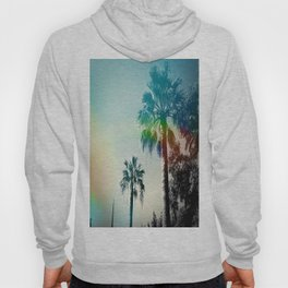 Palm trees of Barcelona Hoody
