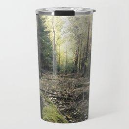 Autumn green Travel Mug