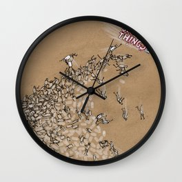 Shiny Things Wall Clock