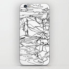 Kaslo River Flow iPhone Skin