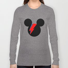 David Bowie Mouse Long Sleeve T-shirt