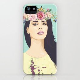 Hipster Queen iPhone Case