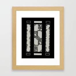 Brace Framed Art Print