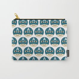 Captian A Emoji Carry-All Pouch