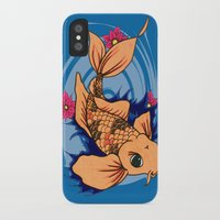 koi fish iPhone & iPod Cases featuring koi fish by Pinkspoisons