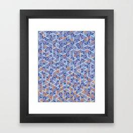 Sacred Flower Framed Art Print