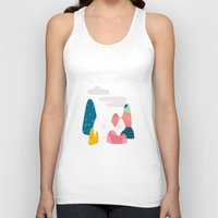 rocky Tank Tops featuring Rocky Road by Brigitte Huynh