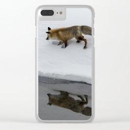 Carol M. Highsmith - Hunting Fox Clear iPhone Case