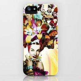 Carmen Miranda Collage iPhone Case