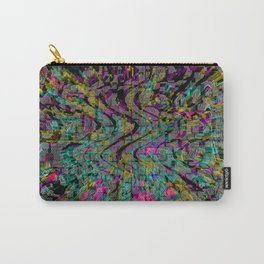 Recycled Pixels Carry-All Pouch