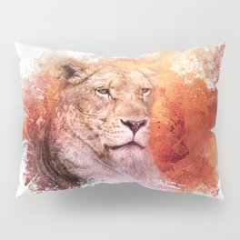 Expressions Lioness Pillow Sham