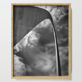 Gateway arch in St-Louis Serving Tray