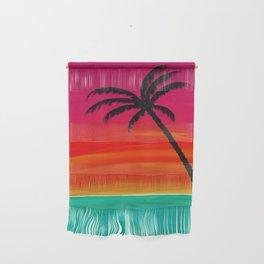 Sunset Palm 2 Wall Hanging