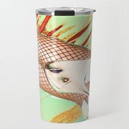 Fishnet Pop Art Travel Mug