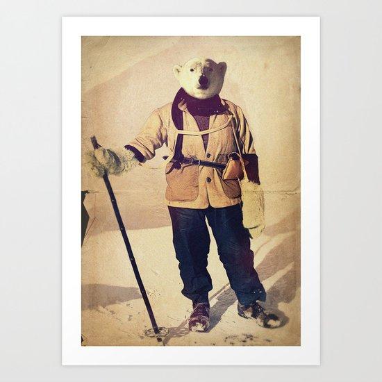 Polar Explorer Art Print
