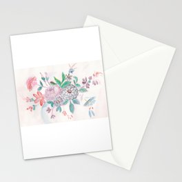 Ade's Blue China Pattern Stationery Cards