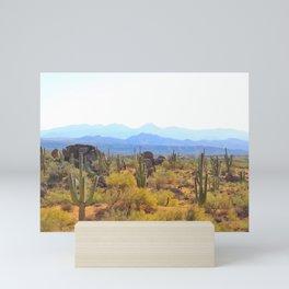 Arizona Desert Solitude Mini Art Print