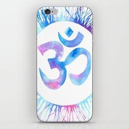 Om Watercolor  iPhone Skin
