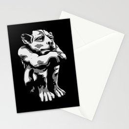 Chill-in Gargoyle Stationery Cards