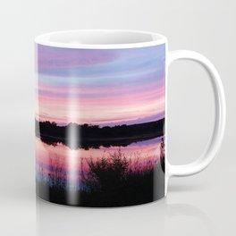 Pink Sunset Mirror Lake Coffee Mug
