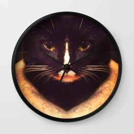 King Cat Wall Clock