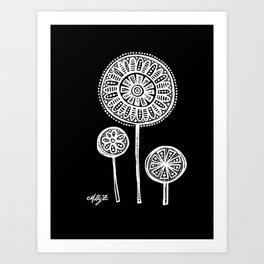 White Flower 136 Art Print