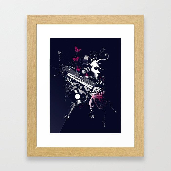 Beautiz Framed Art Print