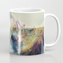 Mountain landscape digital art Coffee Mug