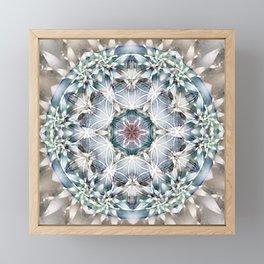 Flower of Life Mandalas 1 Framed Mini Art Print