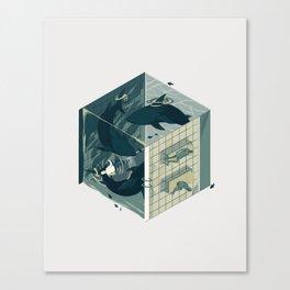 Cube 03 Canvas Print