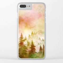 Into The Forest X Clear iPhone Case
