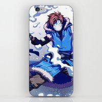 cryaotic iPhone & iPod Skins featuring Snow Bender Cryaotic by Gabbi