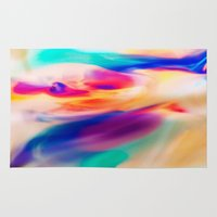 aurora Area & Throw Rugs featuring Aurora by Kimsey Price
