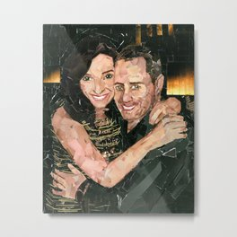 Tracy and Shawn Metal Print