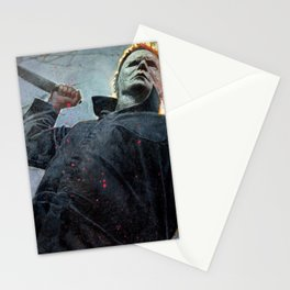 Micheal mayers halloween Stationery Cards