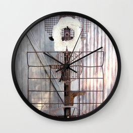 Rusty Goodness Wall Clock